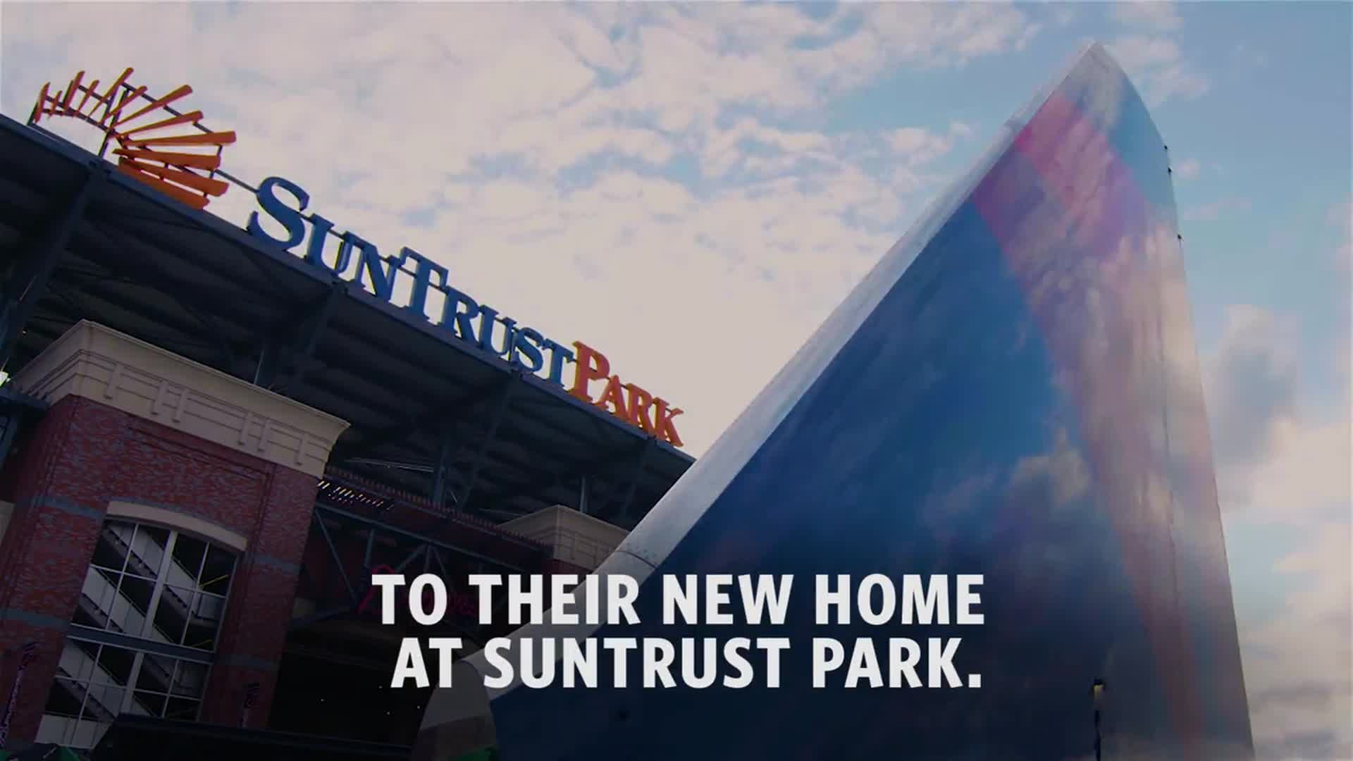 Braves' new home to open with Delta Sky360 Club, aircraft